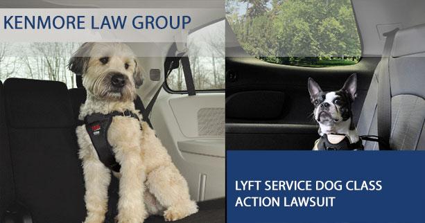LYFT service dog class action lawsuit