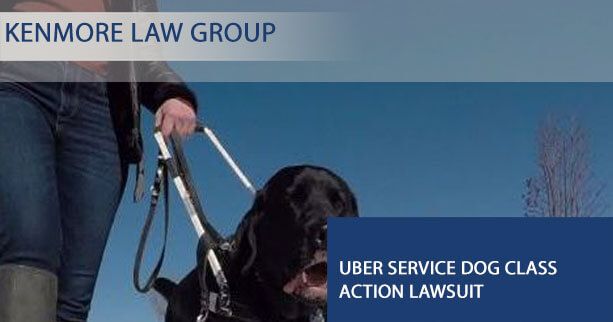 Uber service dog class action lawsuit